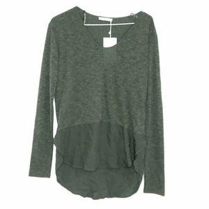 NWT Zara Size US Small Long Sleeve Top